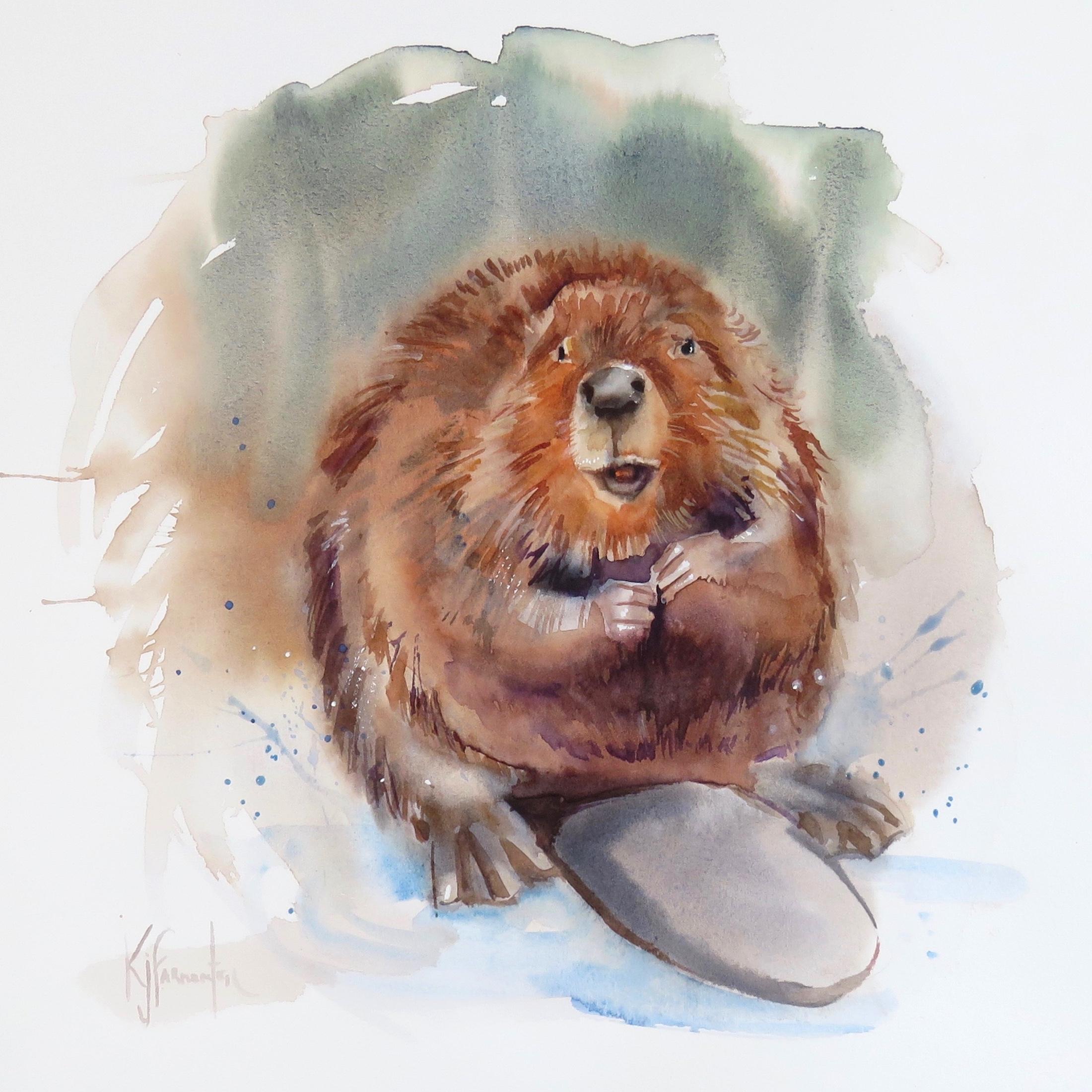 Beavering Card