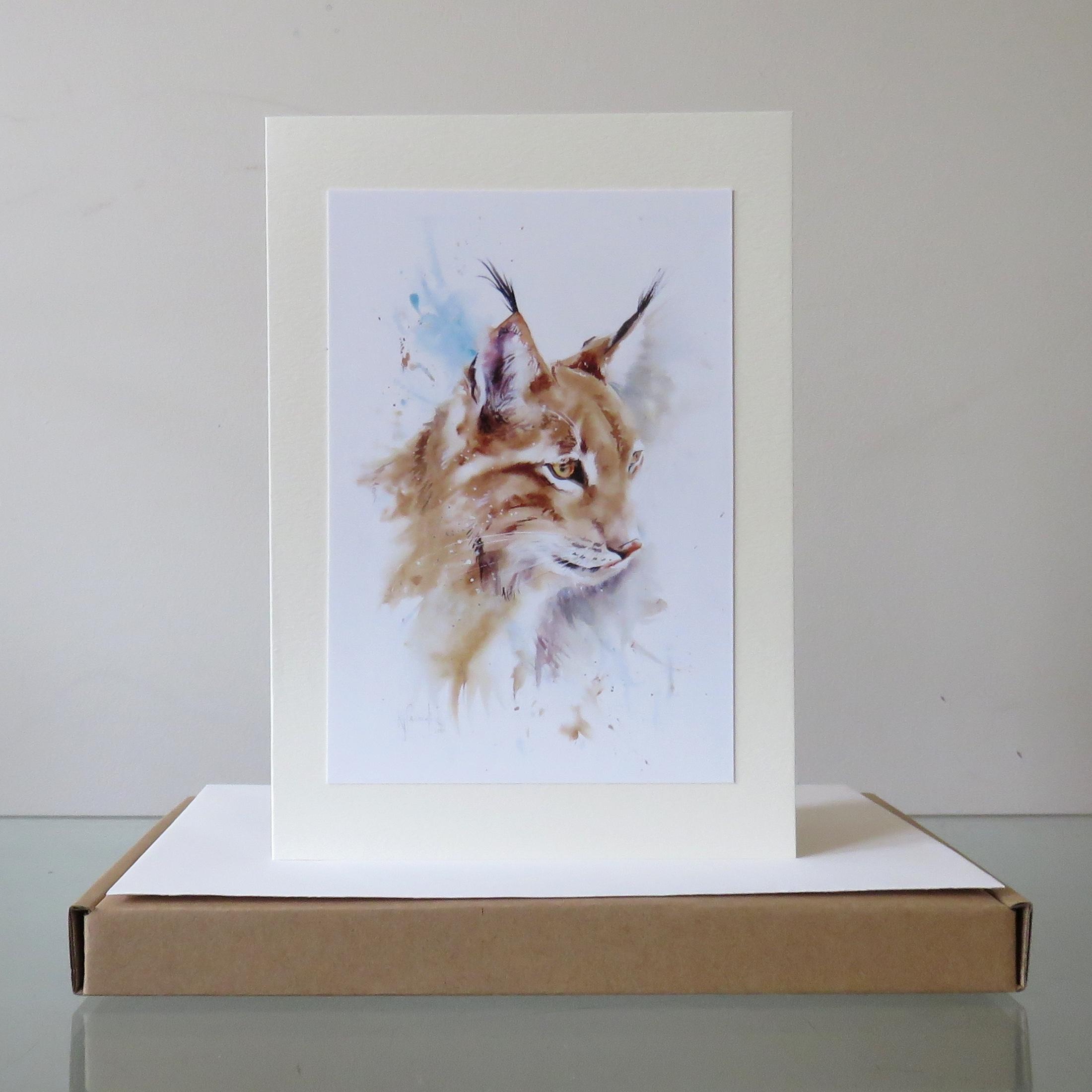Lynx Love Card