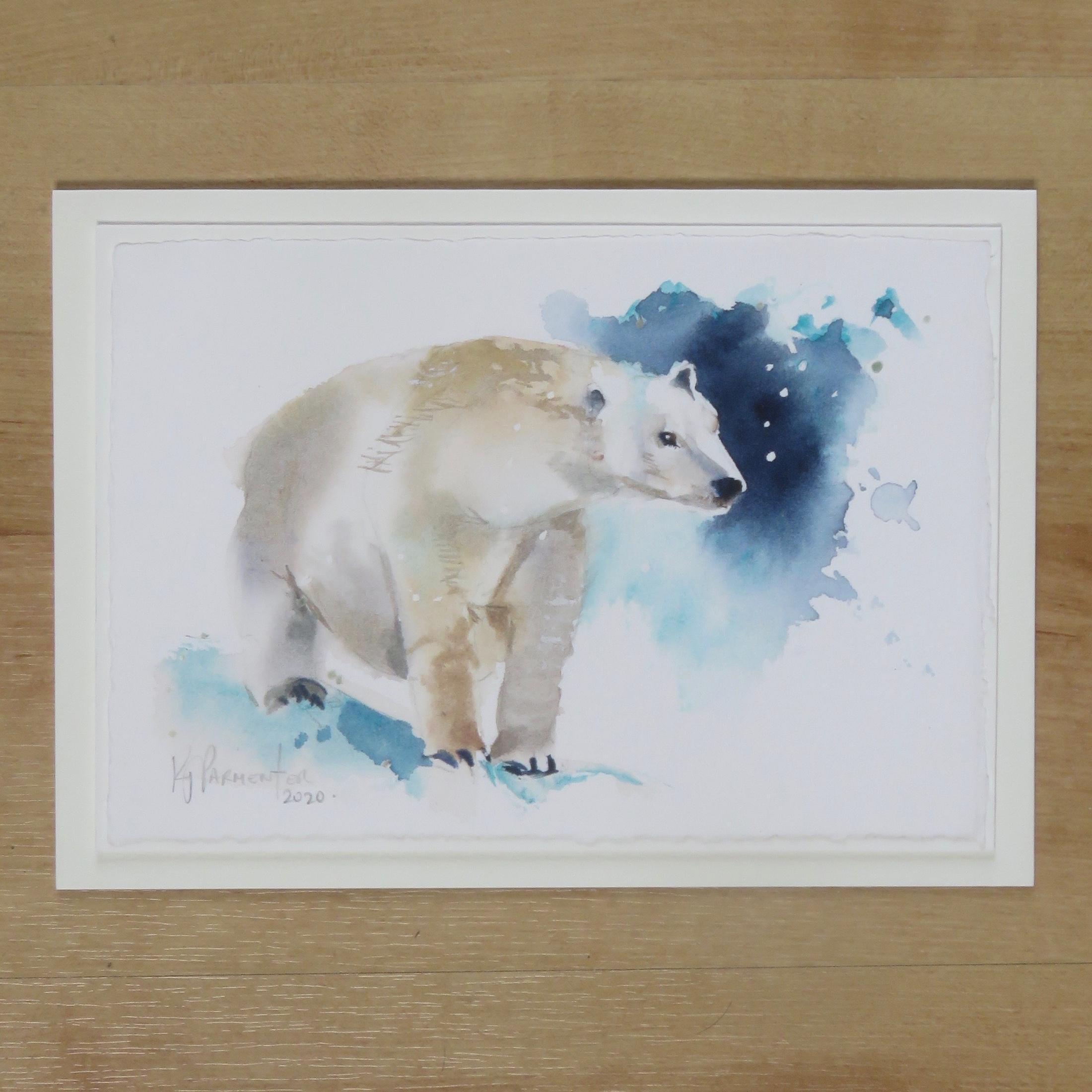 Painted card – Snow Patrol