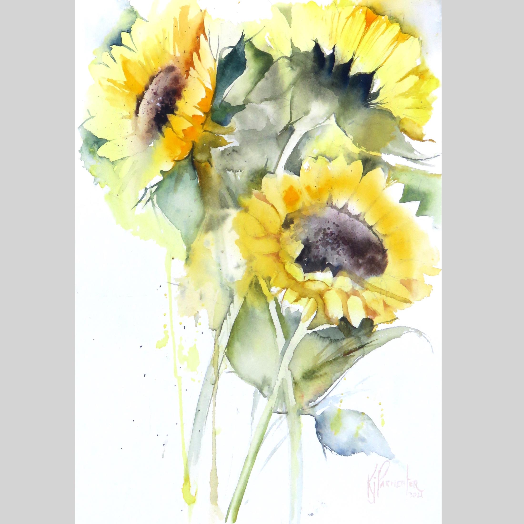 Sunflower Bright Card
