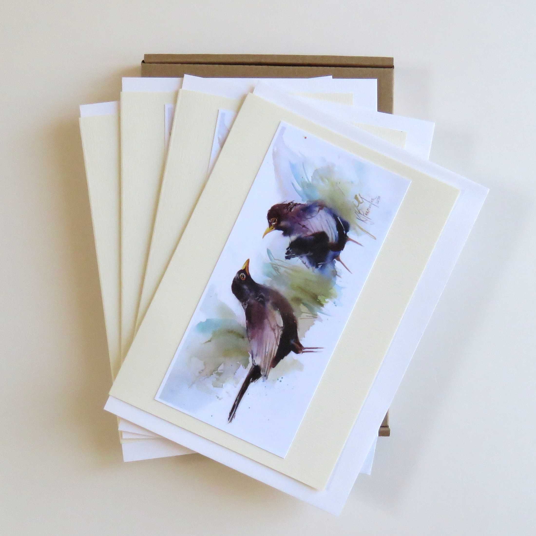 Mr Blackbird Card
