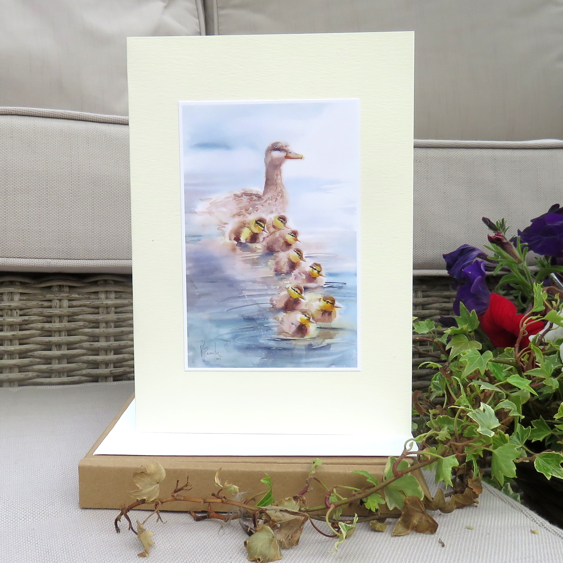 Ducklings Card
