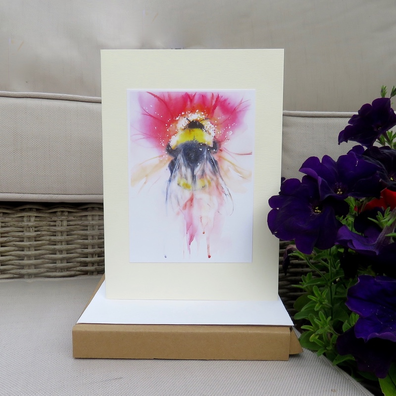 Bee Beautiful Card