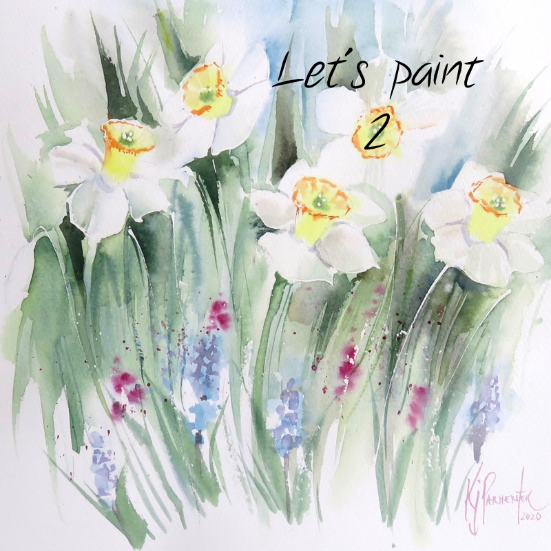Let's paint – 2. Daffodils