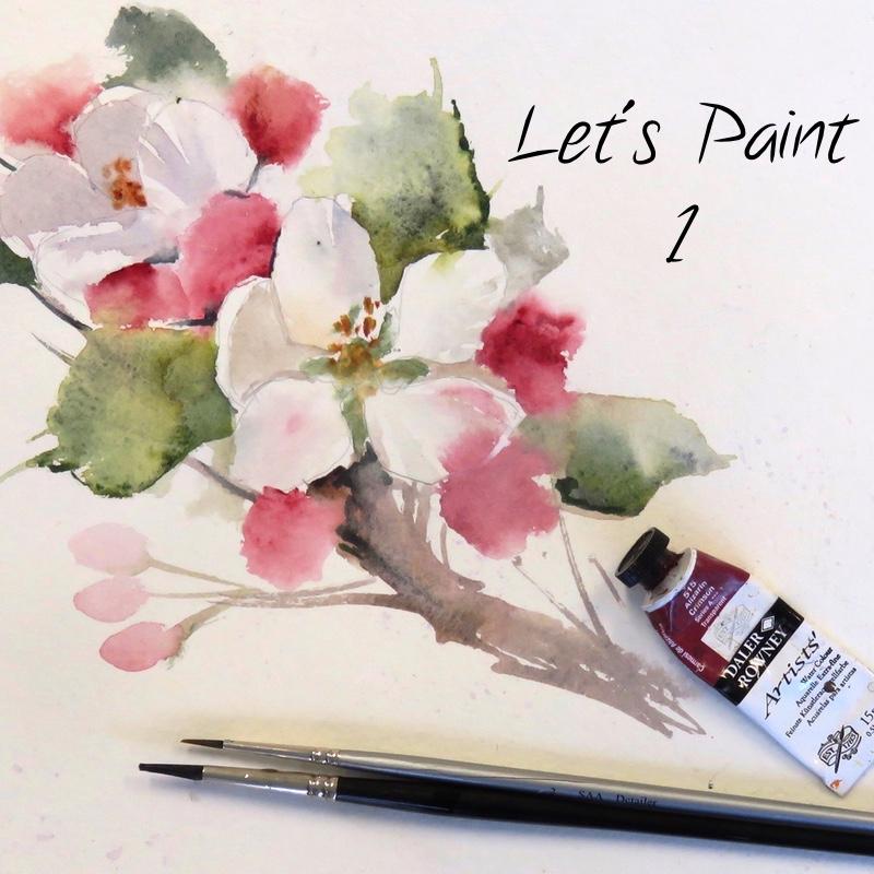 Let's Paint – 1. Appleblossom