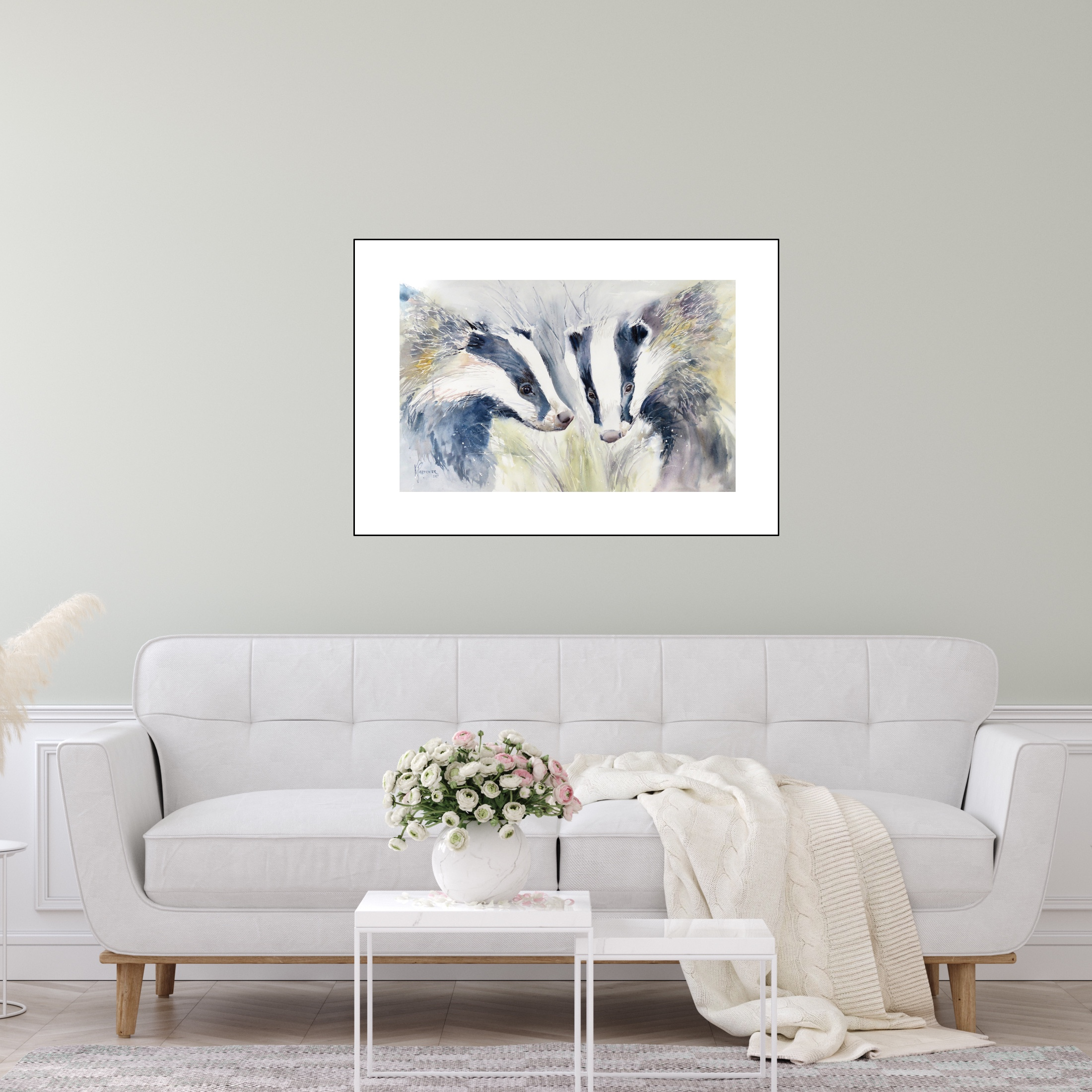 Double Trouble Badgers (Sold)