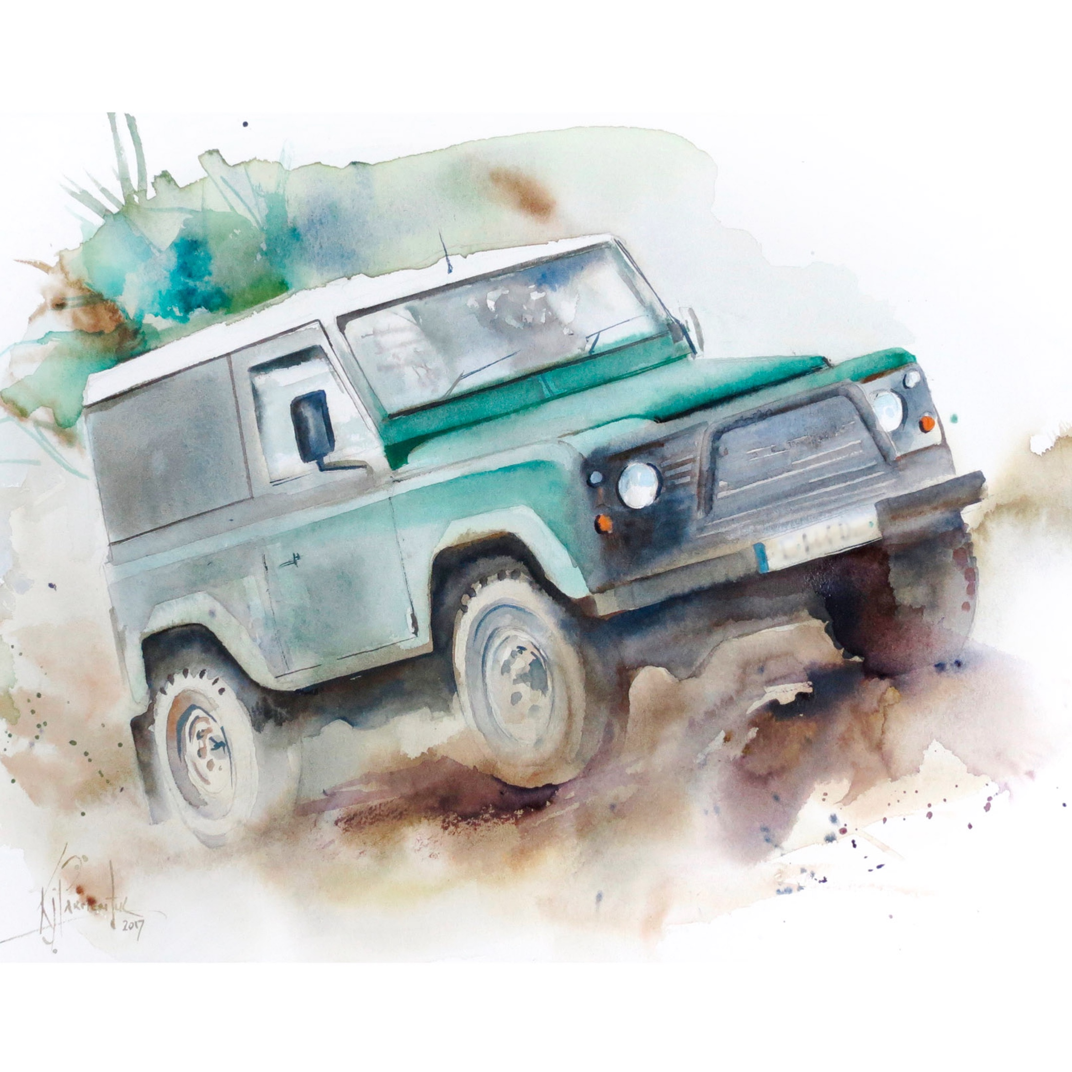 Landrover Defender Card
