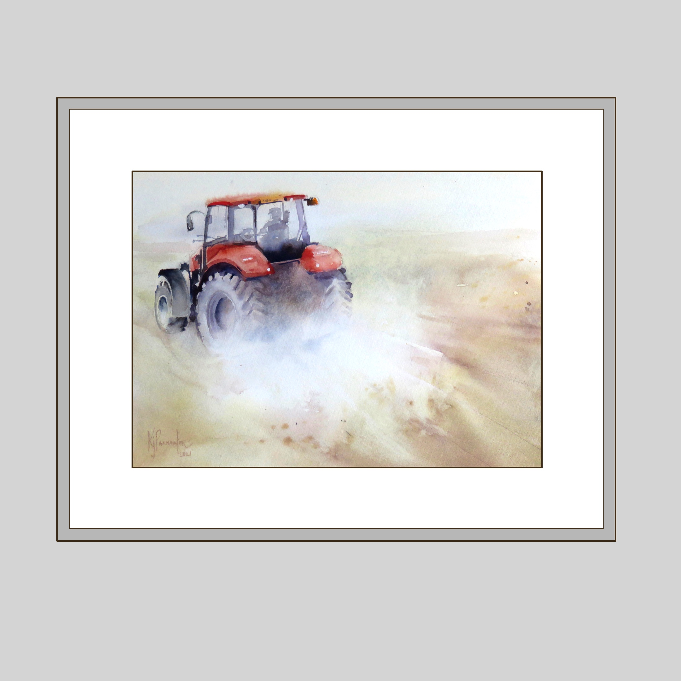 Little Red Tractor (Sold)