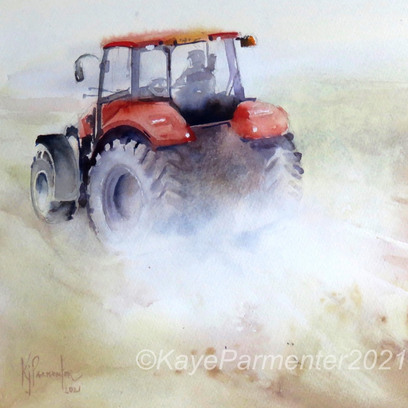 Little Red Tractor (Reserved)
