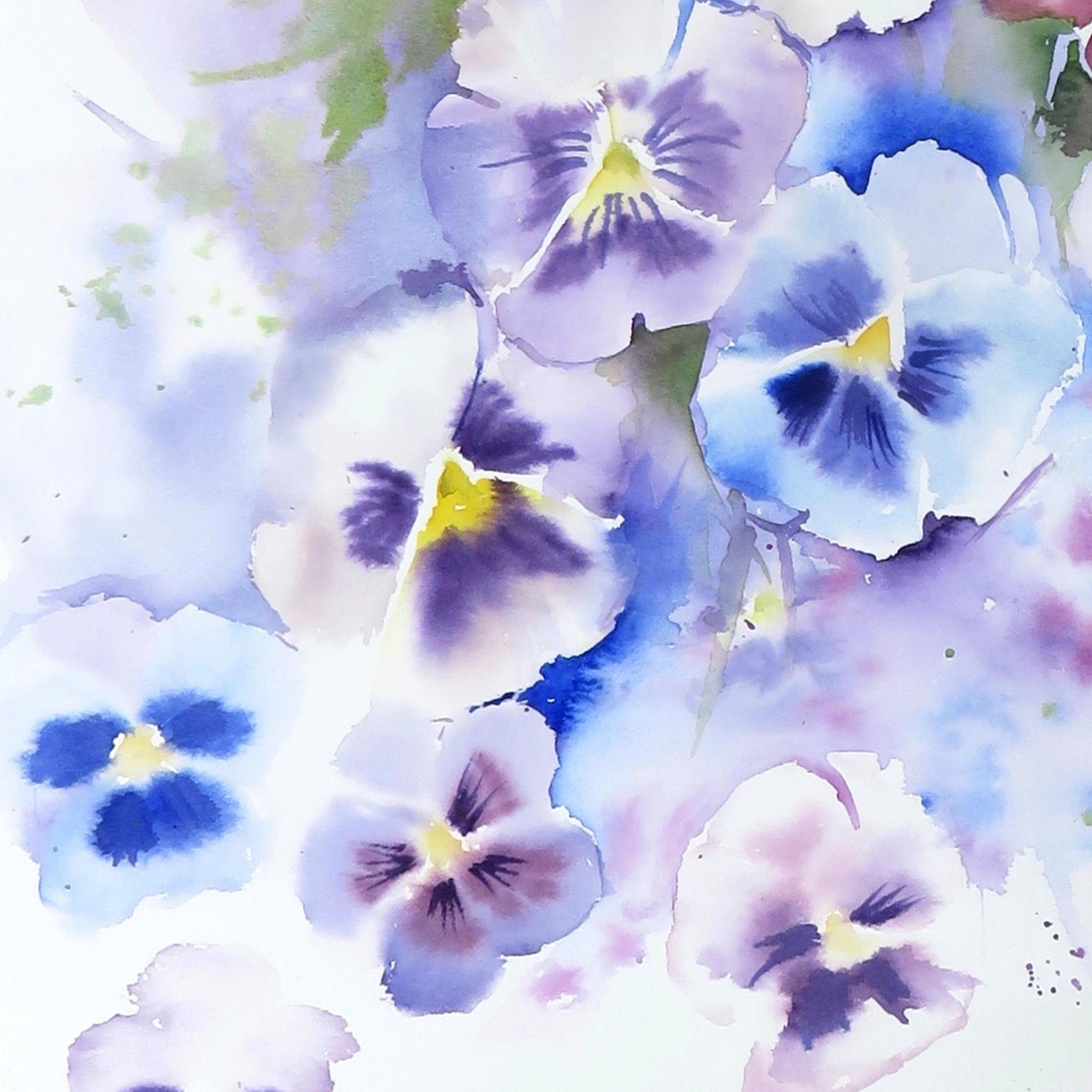 Pansy Blue