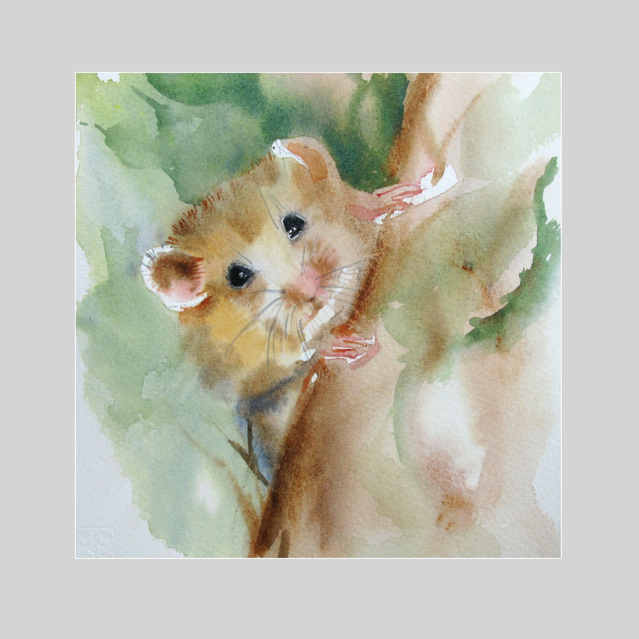 Field Mouse Card